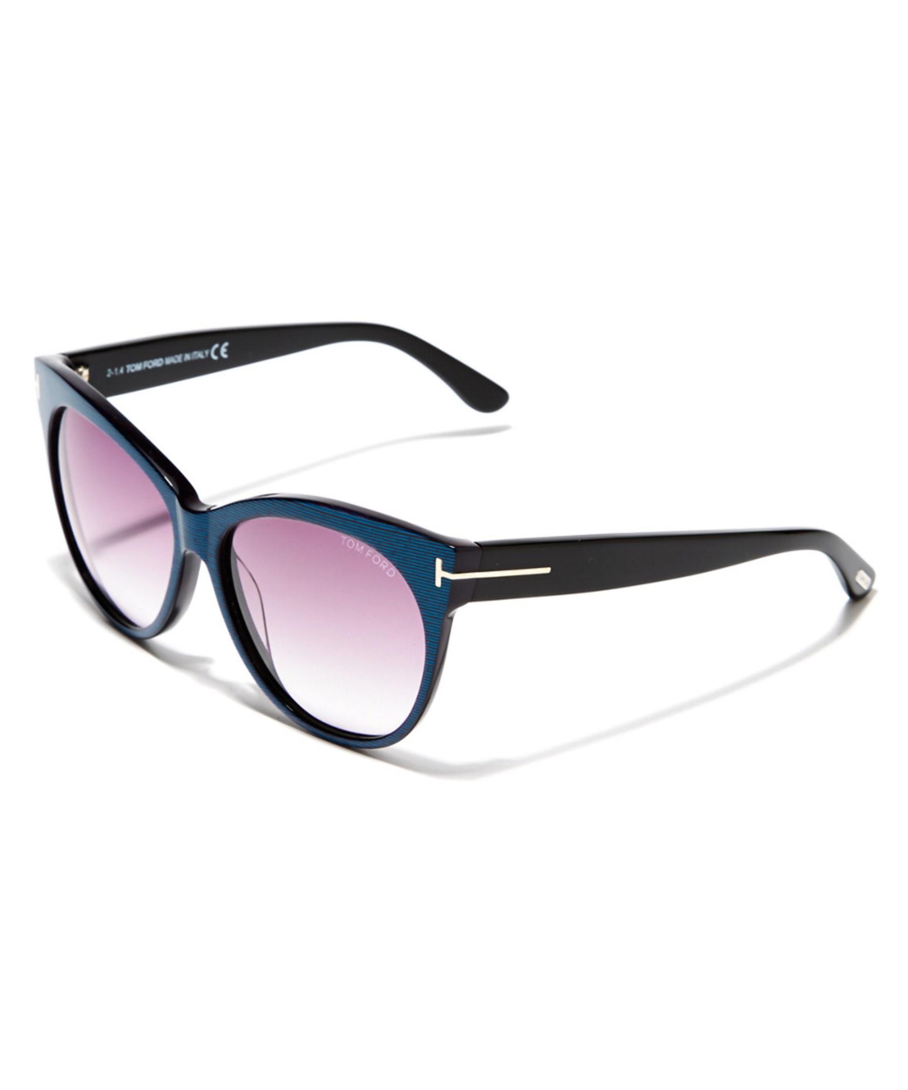 a07eab8a9fbf0 Lyst - Tom Ford Women s Saskia Sunglasses in Black