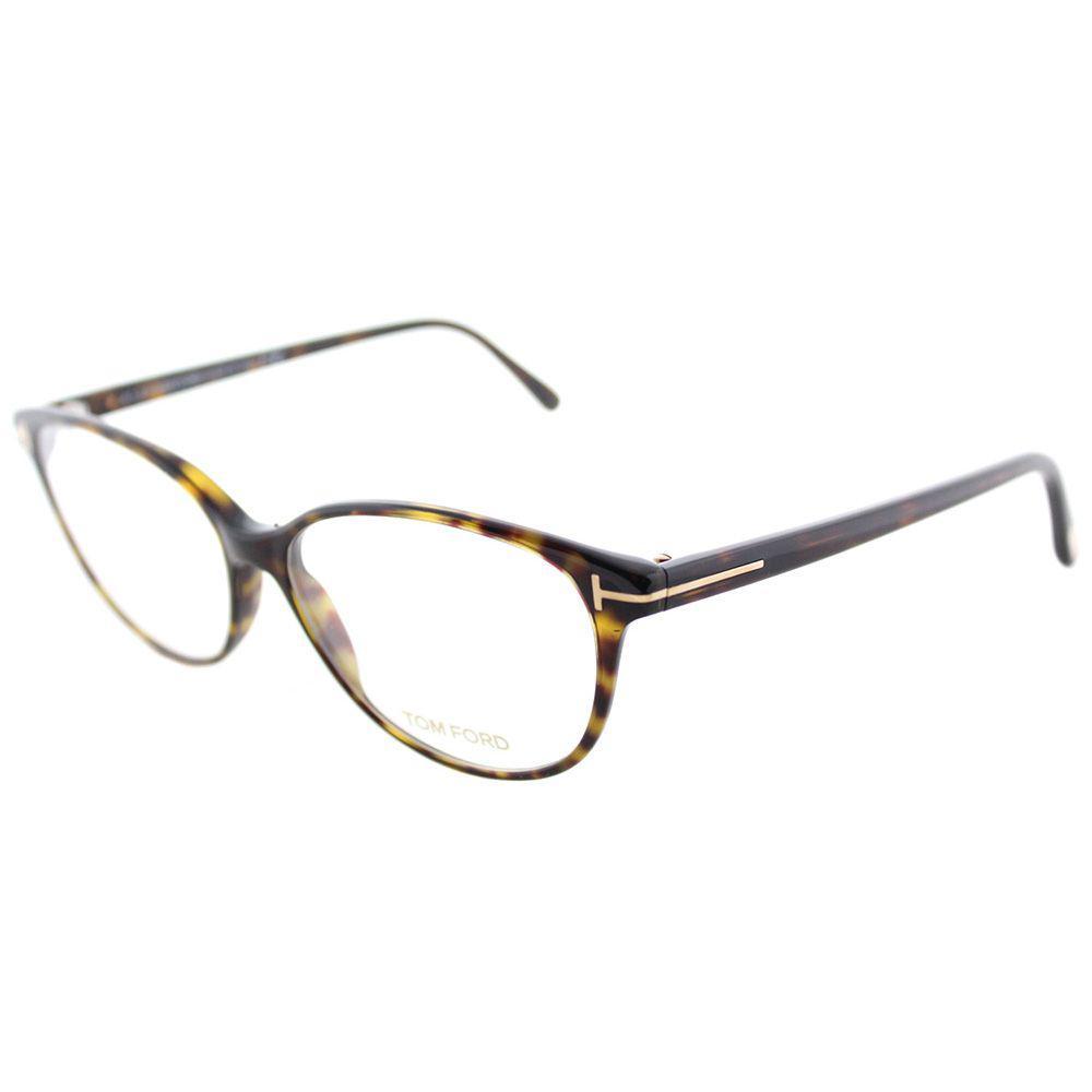 e5a2e36ffec5 Tom Ford. Women's Brown Soft Cat-eye Ft 5421 052 53mm Dark Havana Cat-eye  Eyeglasses