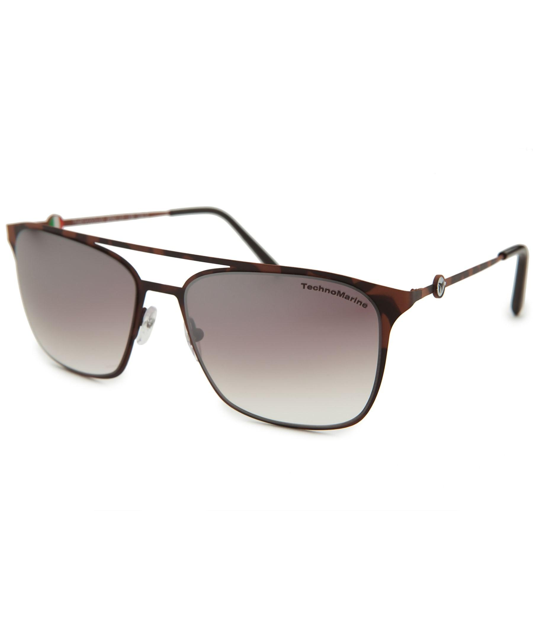 technomarine cruise rectangle camo sunglasses in