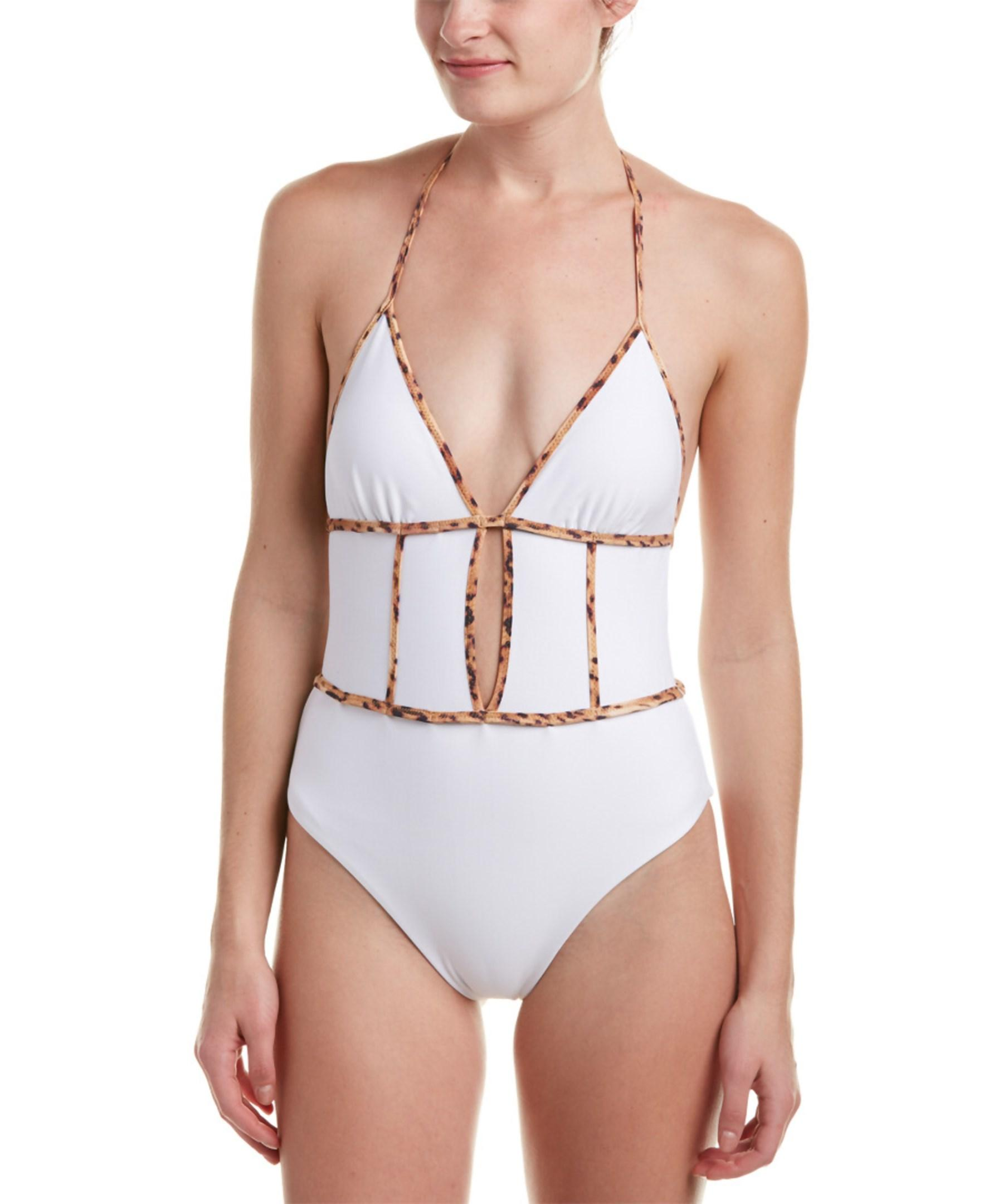Sofia By Vix Border On piece In White Lyst