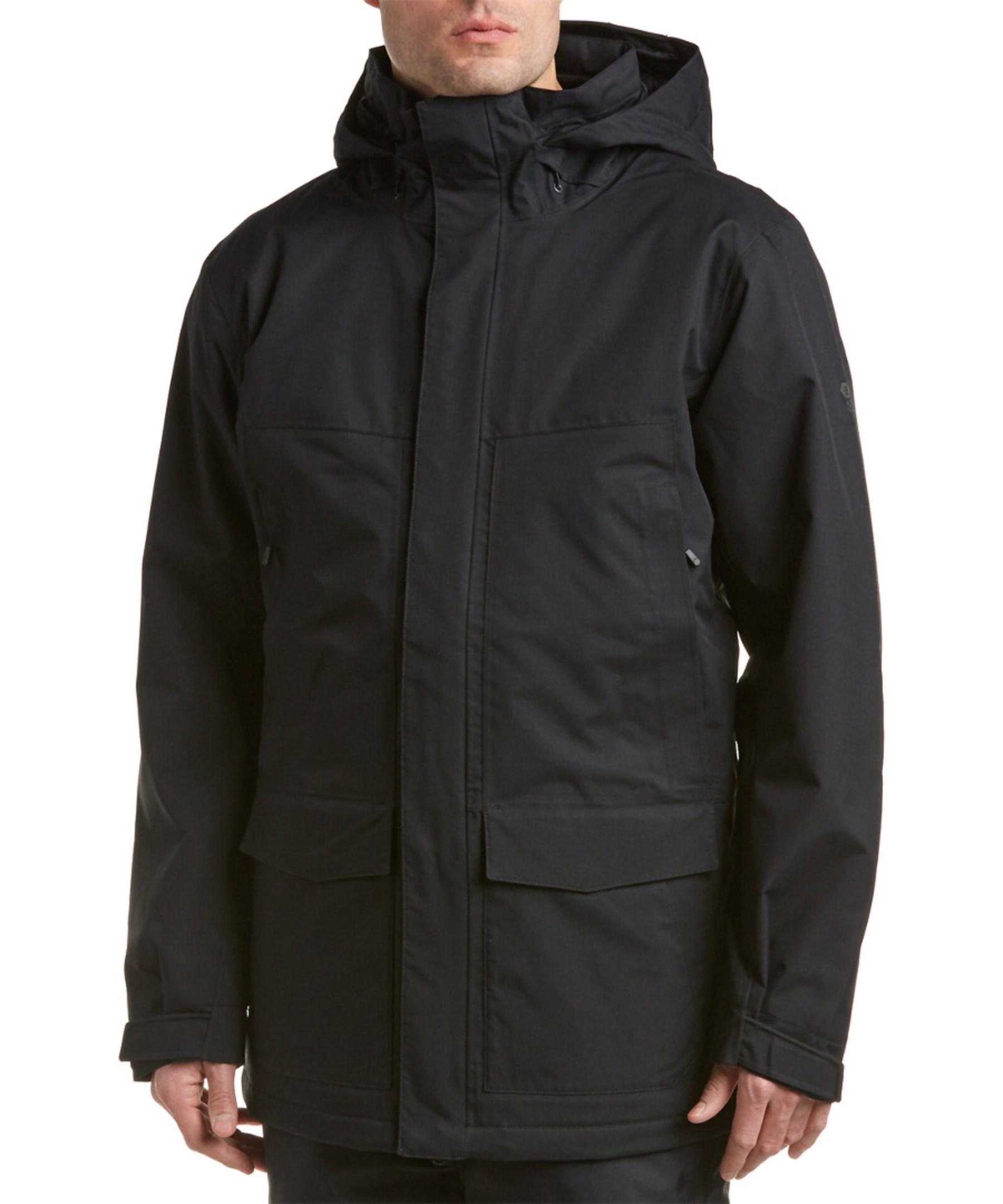 Mountain Hardwear Radian Insulated Coat In Black For Men