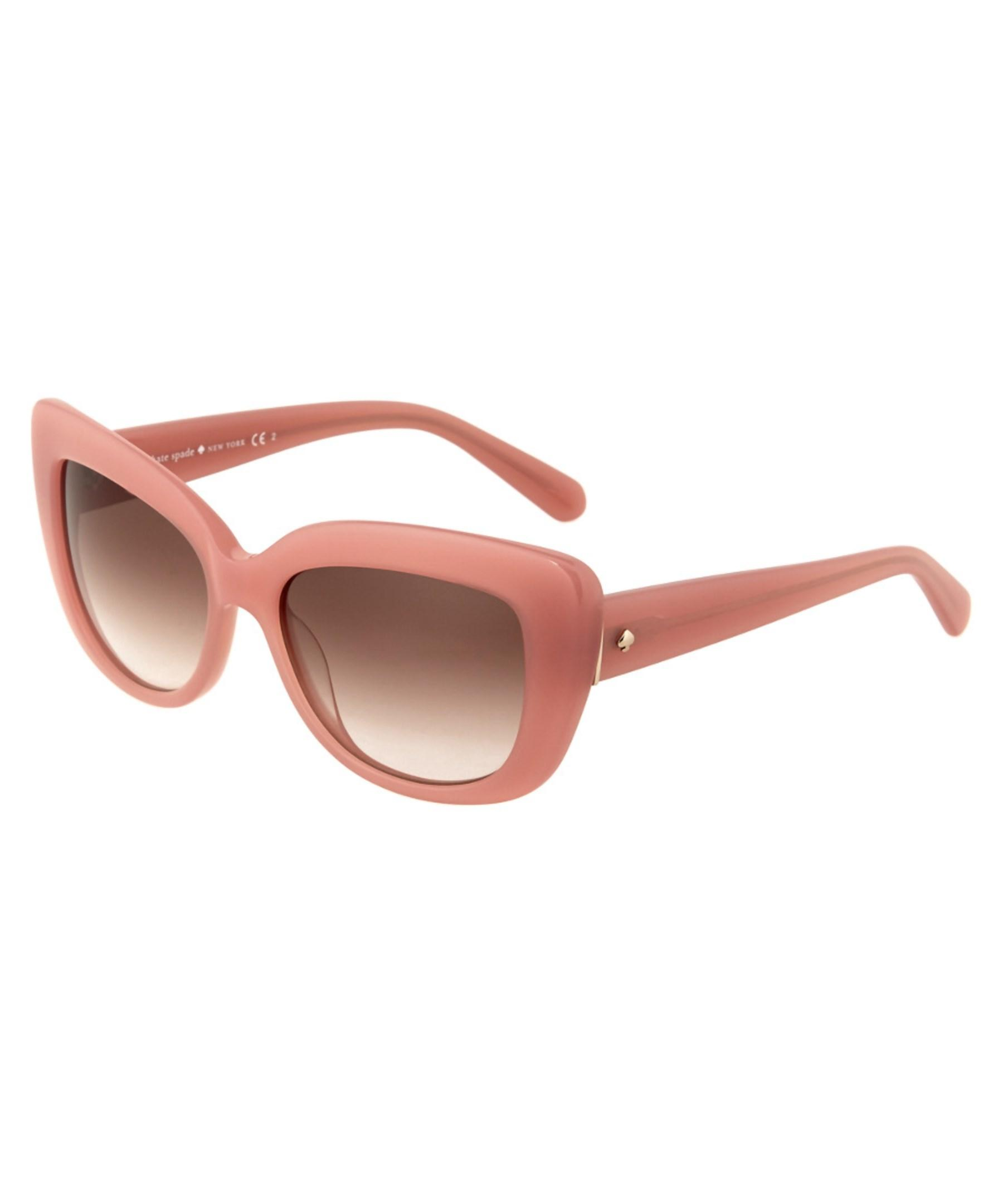 Kate Spade New York Women S Ursula Sunglasses In Pink Lyst