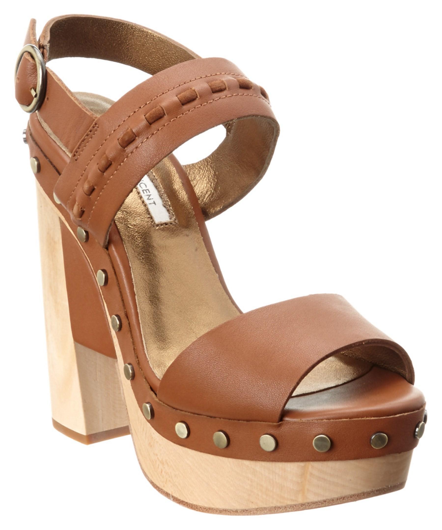 Cynthia Vincent Multicolor Potent Leather Sandal Lyst