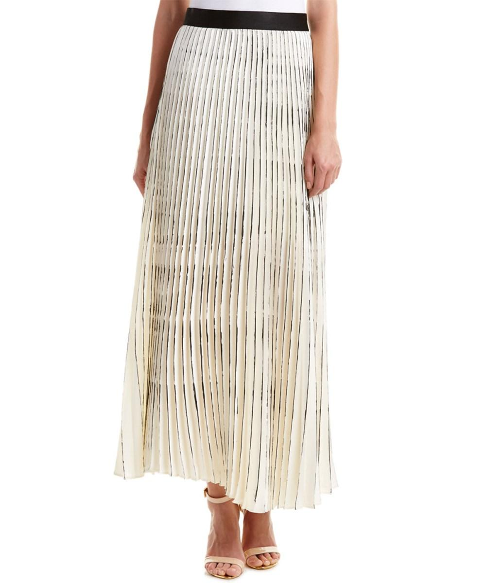 bailey 44 wooly amsonia maxi skirt in lyst