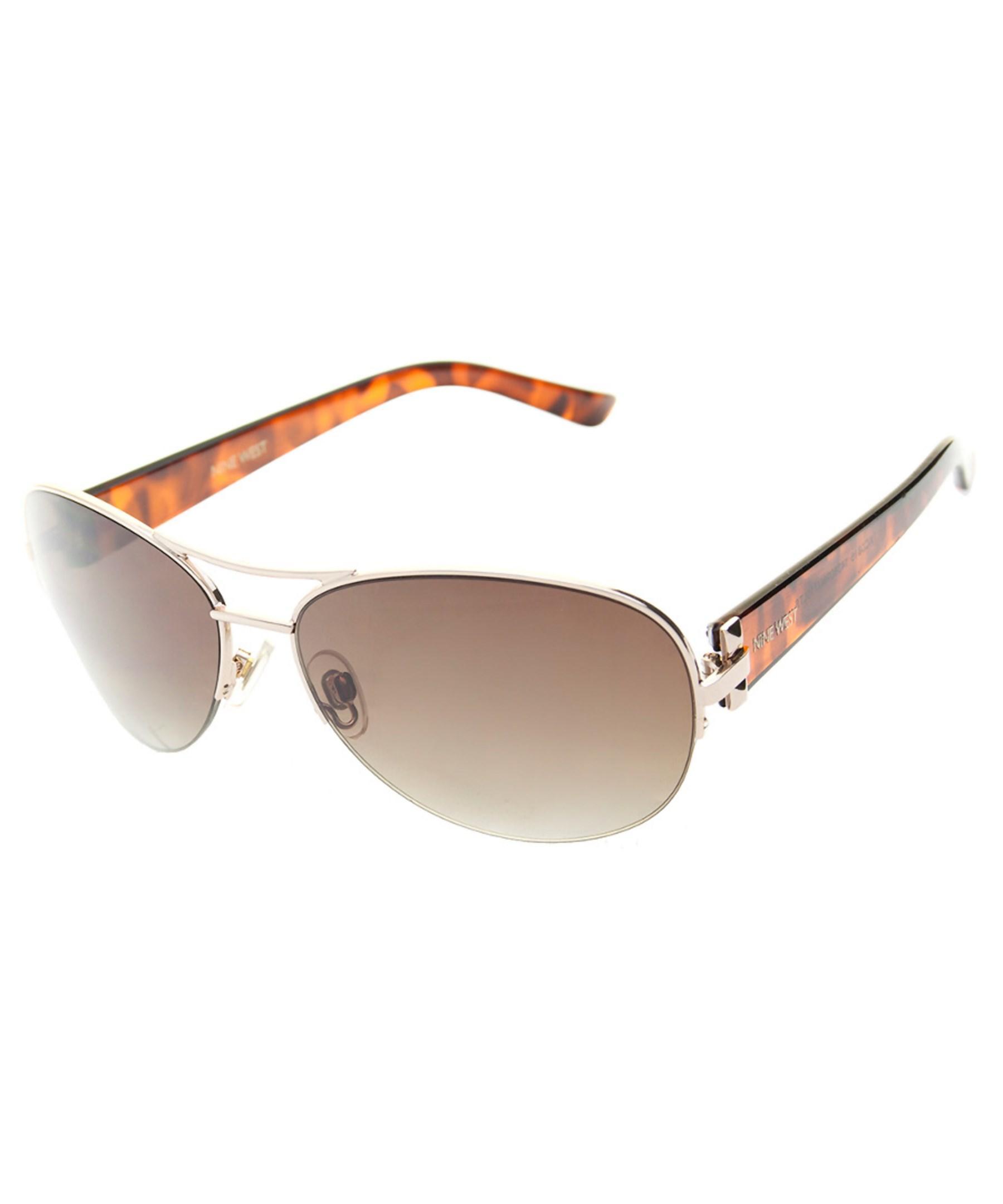 b43e9889cb Lyst - Nine west 14380rnj710 50mm Sunglasses in Brown