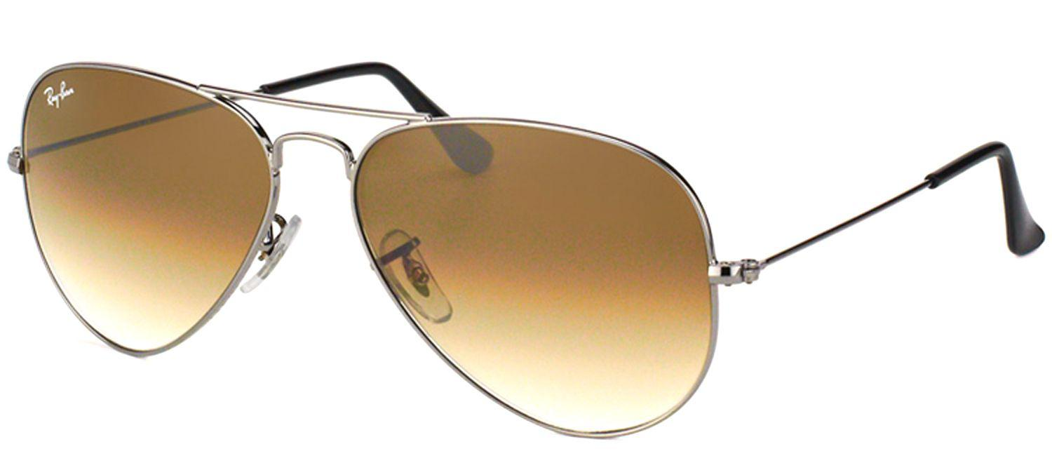 346a148c355 Ray-Ban. Women s Metallic Classic Aviator Rb 3025 004 51 62mm Gunmetal  Aviator Sunglasses