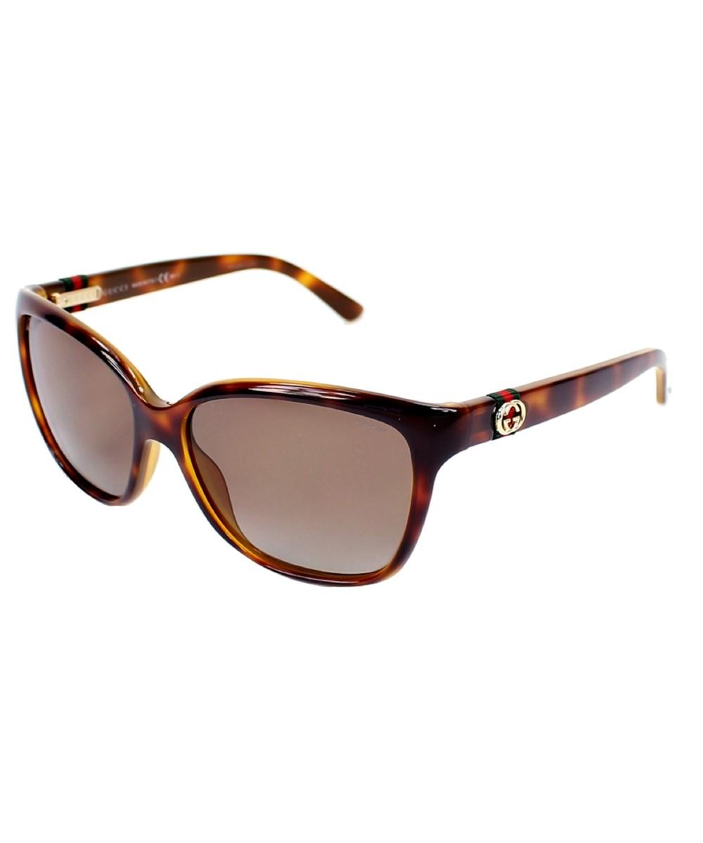 630cf8d0c9041 Lyst - Gucci 3645 s 0q3v Sunglasses in Brown