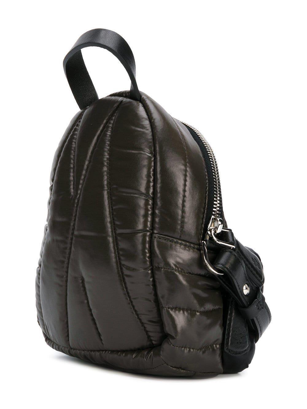 c389373317ec Lyst - Moncler Women s Black Polyester Shoulder Bag in Black - Save  37.17579250720461%