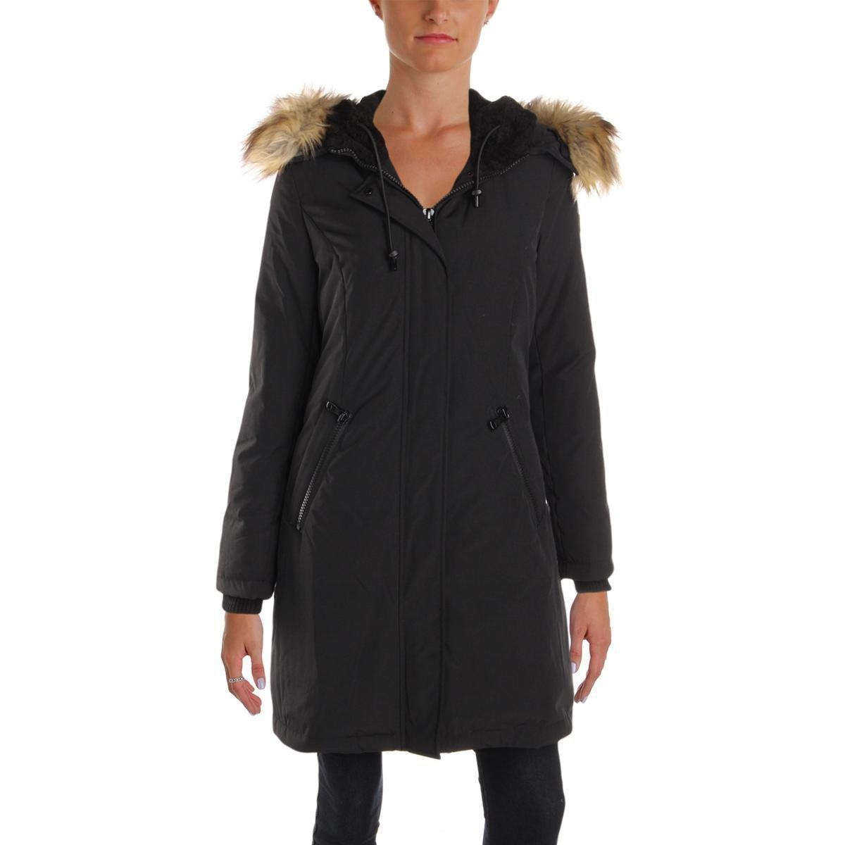0e40d44b5 Lyst - Vince Camuto Womens Winter Down Parka Coat in Black