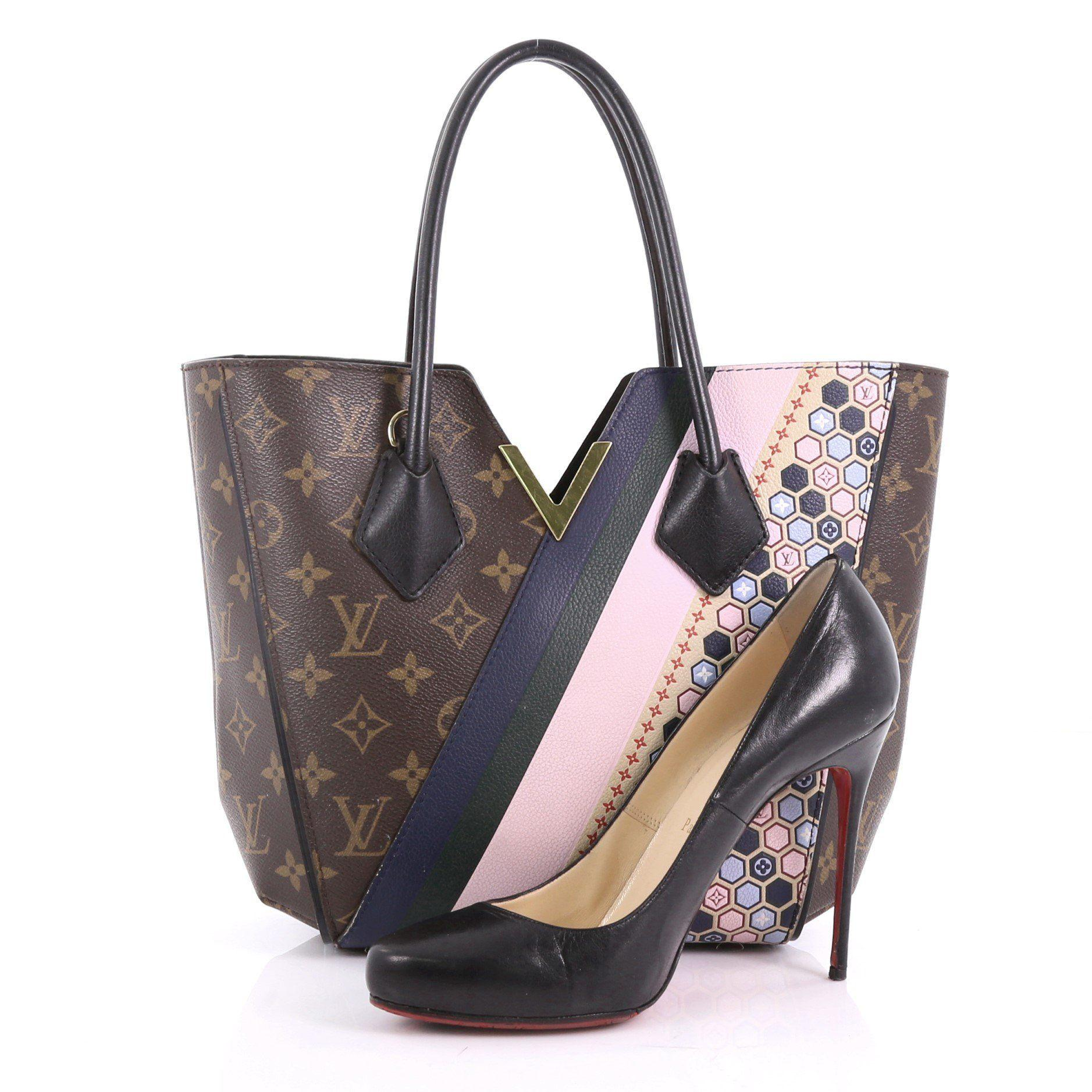 Louis Vuitton - Multicolor Pre Owned Kimono Handbag Limited Edition Monogram  Canvas And Leather Pm -. View fullscreen a332afe2fd