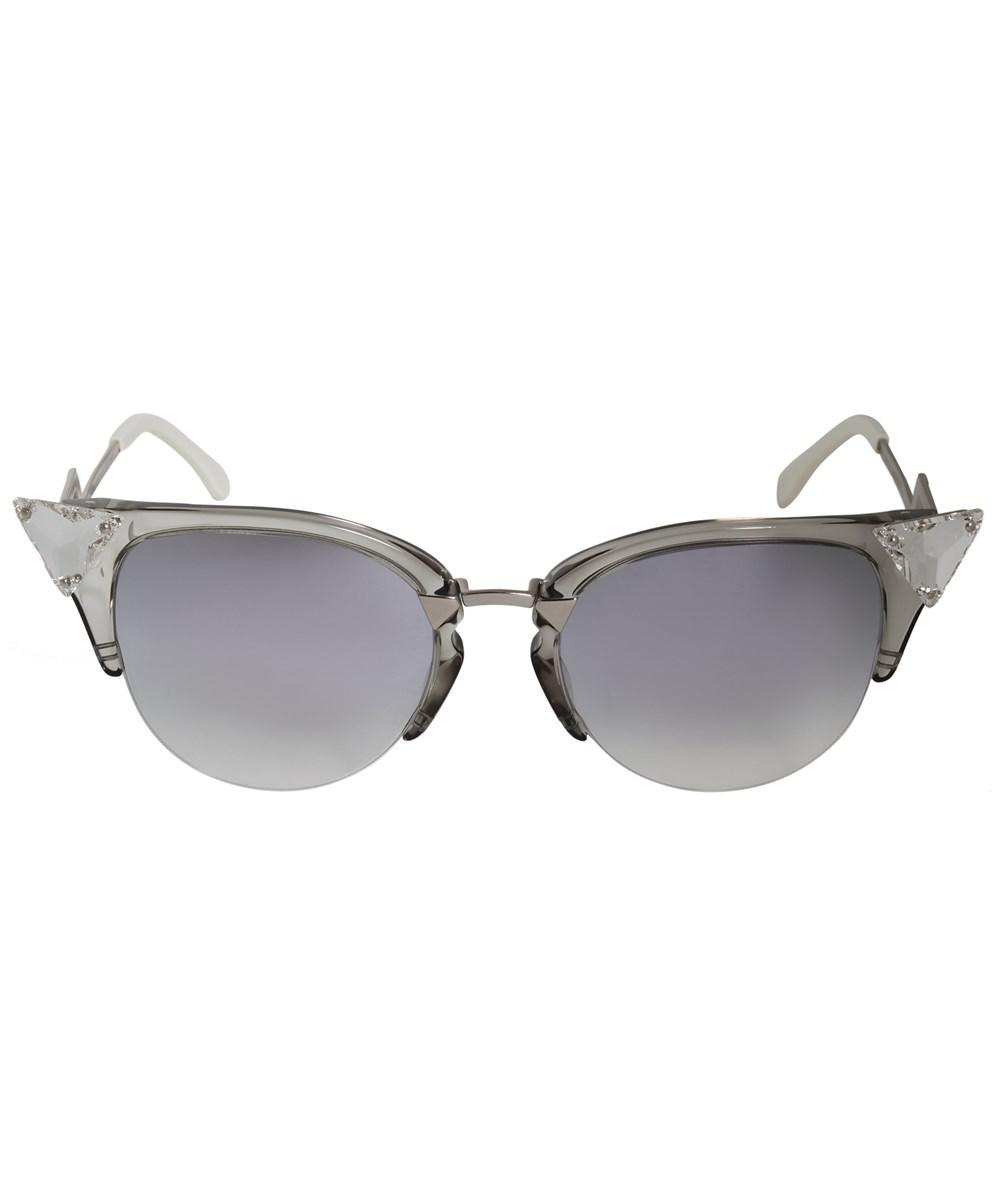 adc591981fa1 Fendi Iridia Cat Eye Sunglasses Ff0041s 27c Fu 52 - Lyst