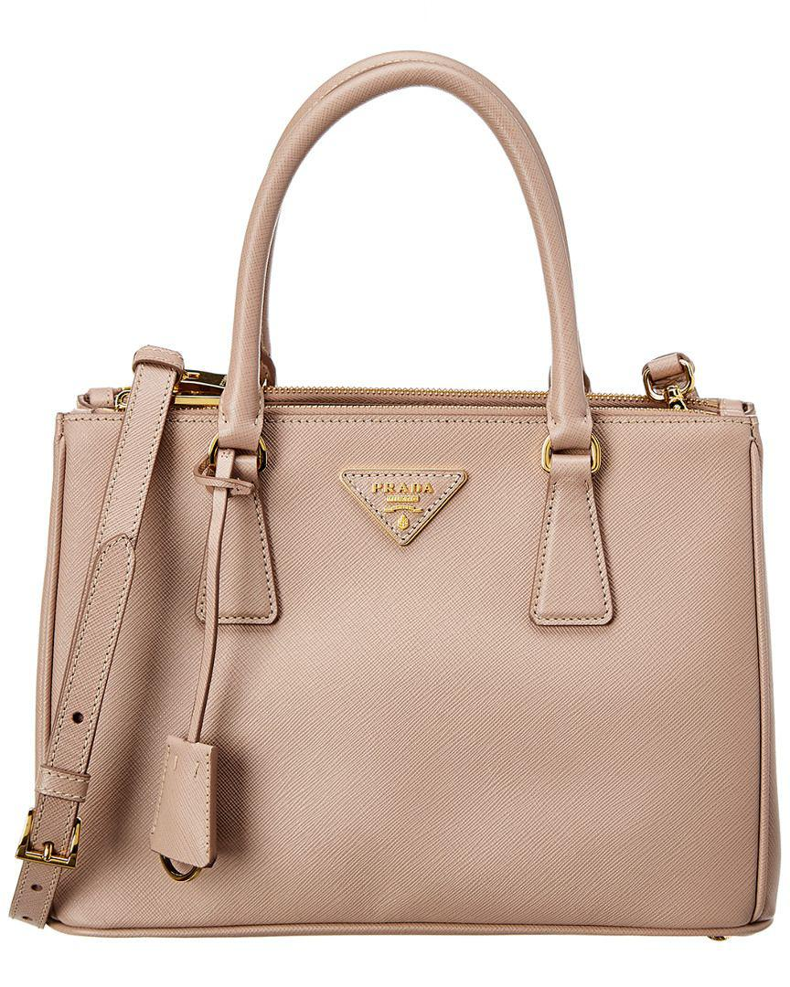 6447cea361f7 Prada. Women s Small Galleria Saffiano Lux Leather Double Handle Tote