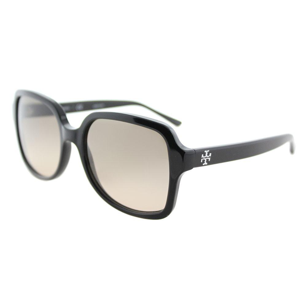 b4a5a81bebce Lyst - Tory Burch Ty 7102 137713 Black Square Sunglasses in Black