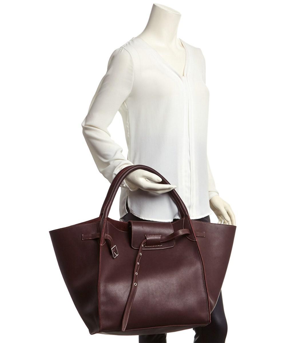 7ce5561c6e Lyst - Céline Medium Leather Big Bag
