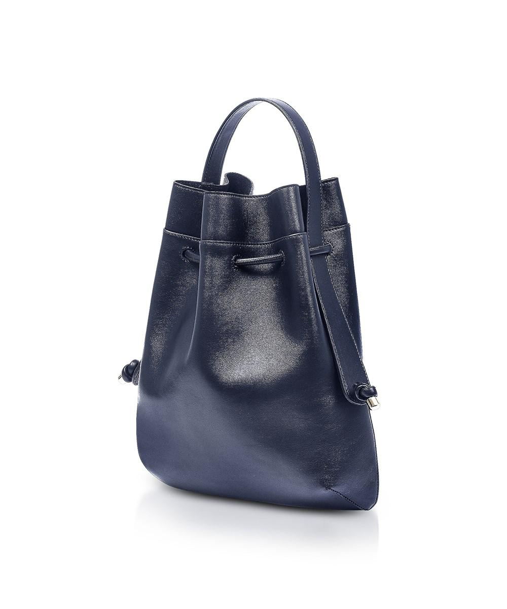 Lyst - Meli Melo Meli Melo Women s Blue Leather Backpack in Blue e39887af42fad