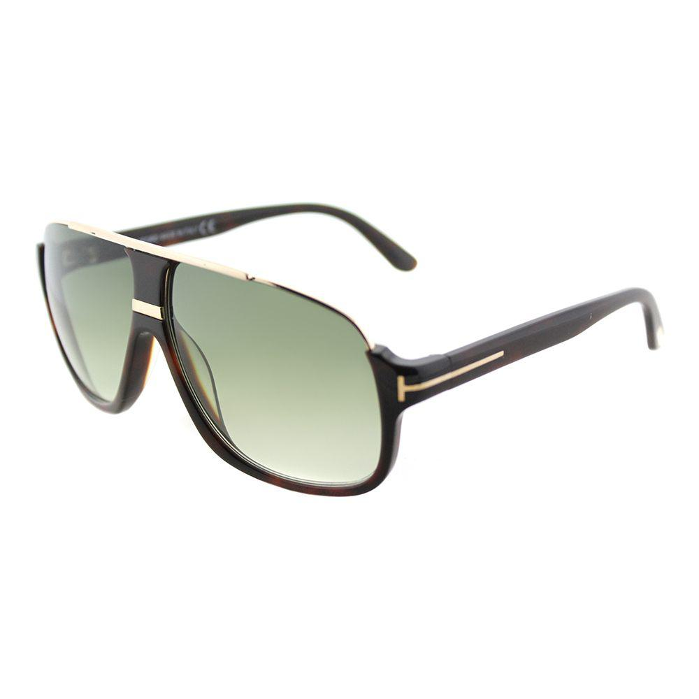 8144fa2803 Tom Ford. Women s Eliott Tf 335 56k Havana Aviator Sunglasses