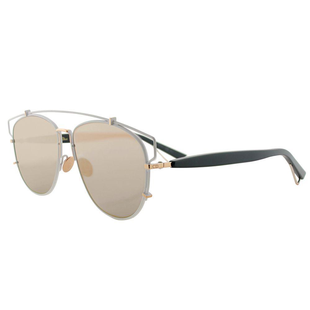 3f449e1eb6242 Dior. Women s Technologic Cd Technologic Xg9 57mm Matte White Black Fashion  Sunglasses