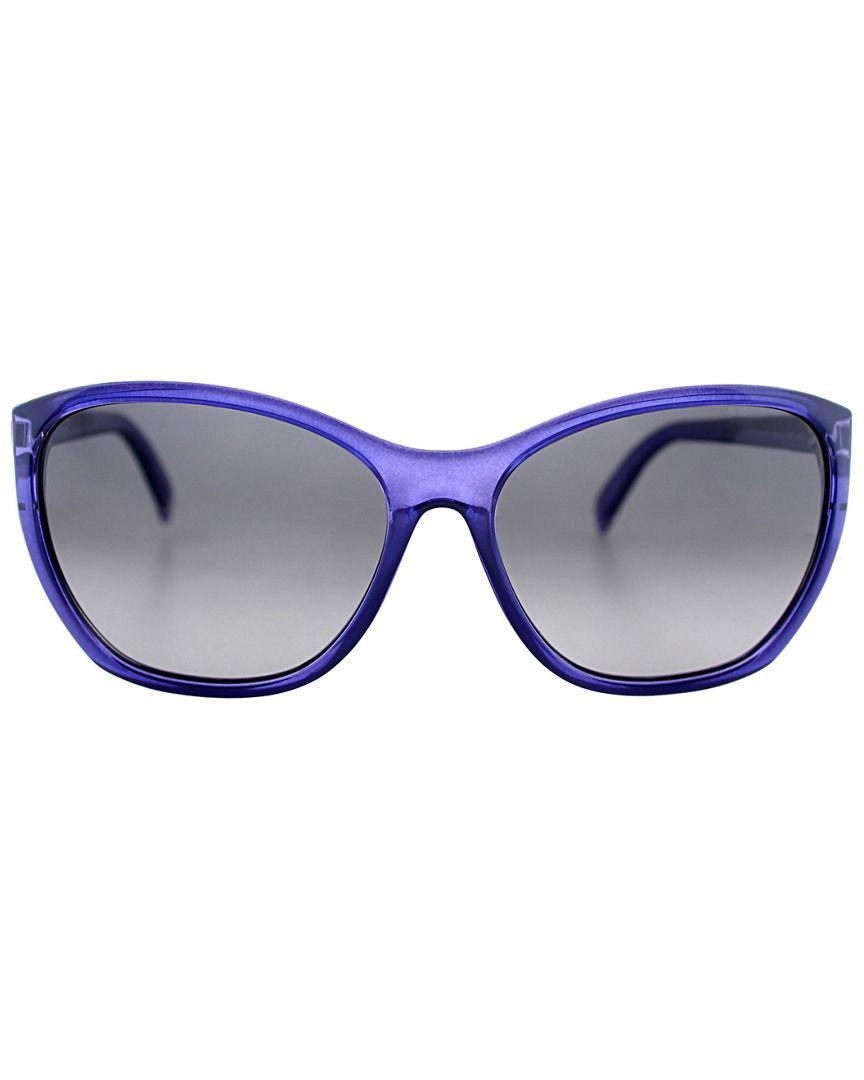 fa78616c713d Lyst - Fendi Women s F5219 Sunglasses in Blue