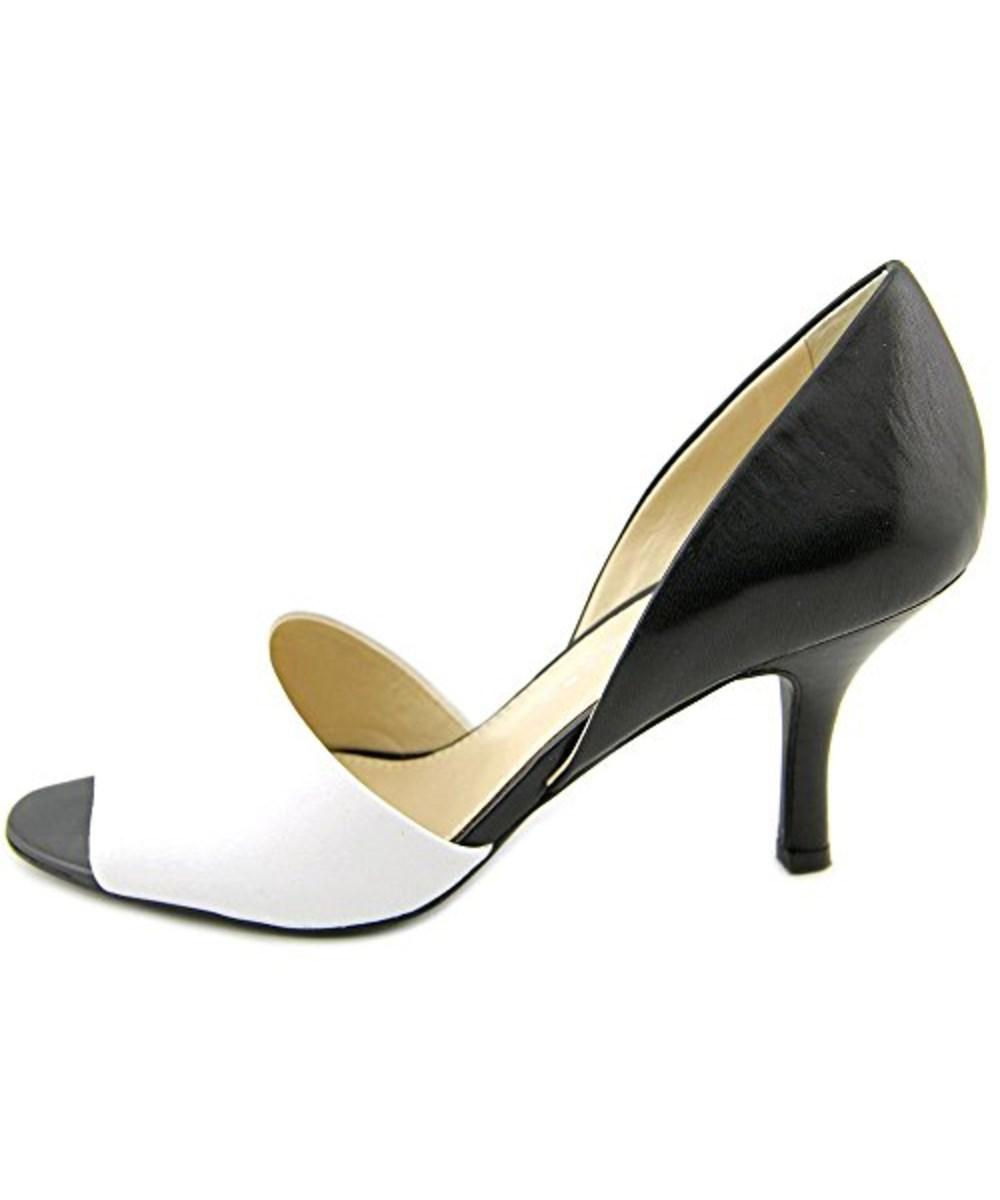 317cf649b7d Lyst - Franco Sarto Women s Ilsa Two-piece Pumps in Black