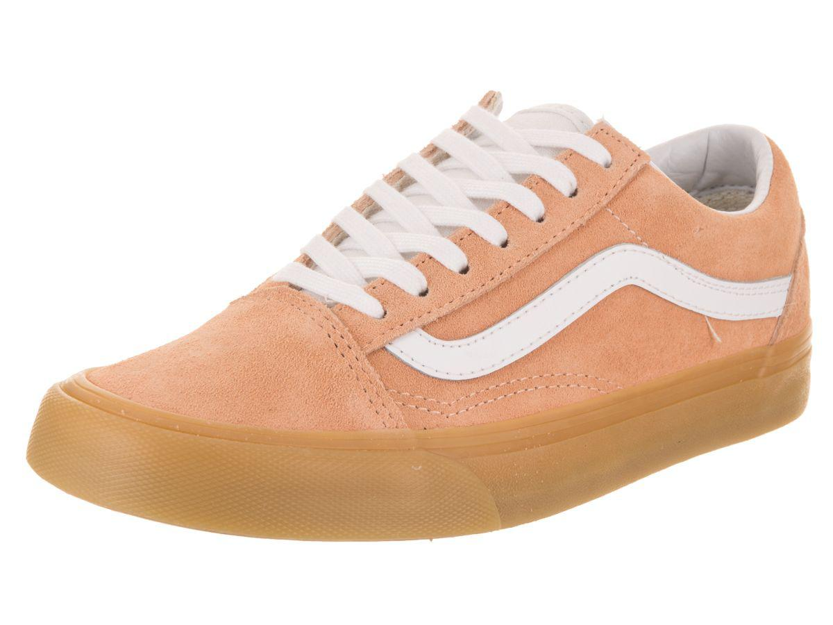 20cecdd91b914c Lyst - Vans Unisex Old Skool (double Light Gum) Skate Shoe in Orange ...