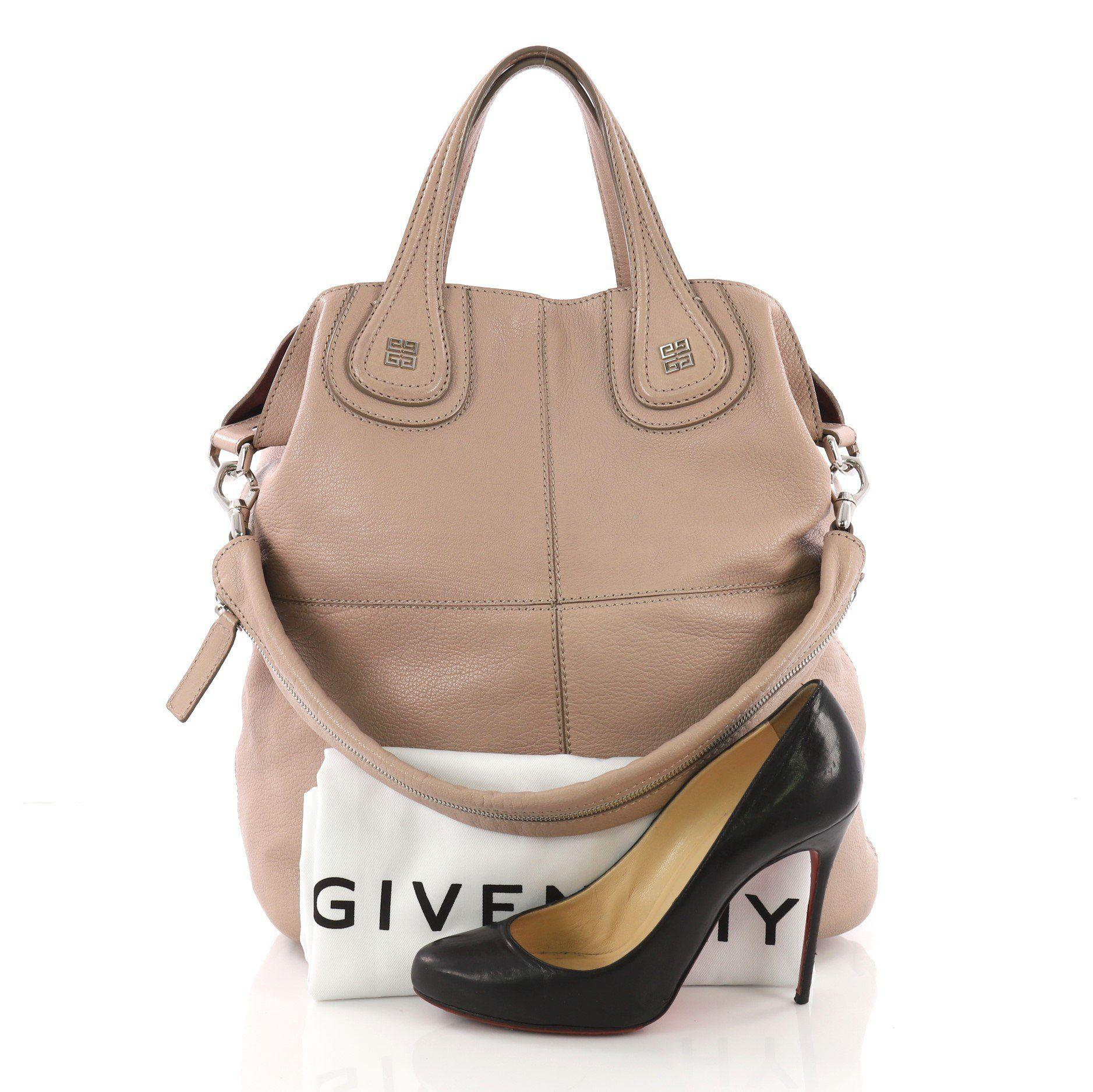 Givenchy - Multicolor Pre Owned Nightingale Tote Leather Large - Lyst. View  fullscreen 3ce8125cdd7c6