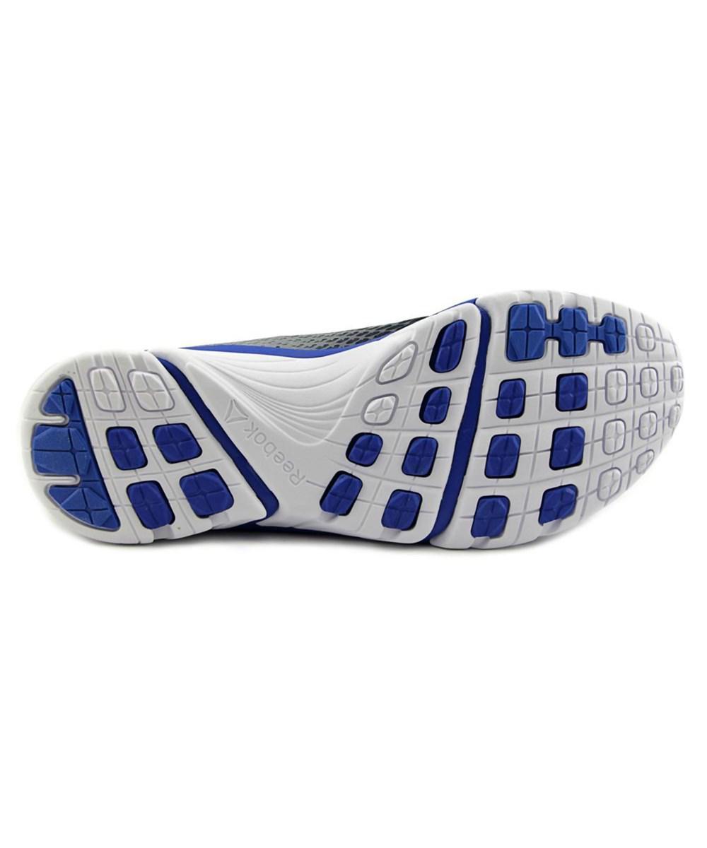 c2261cd4939 Lyst - Reebok Zstrike Elite Round Toe Synthetic Running Shoe in Blue ...