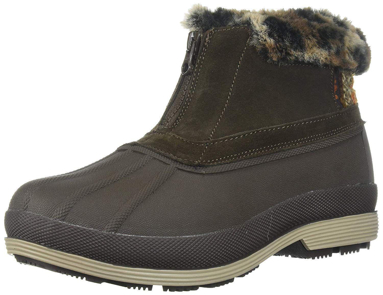 1cb5f98c0f55e Lyst - Propet Propet Women s Lumi Ankle Zip Snow Boot in Brown