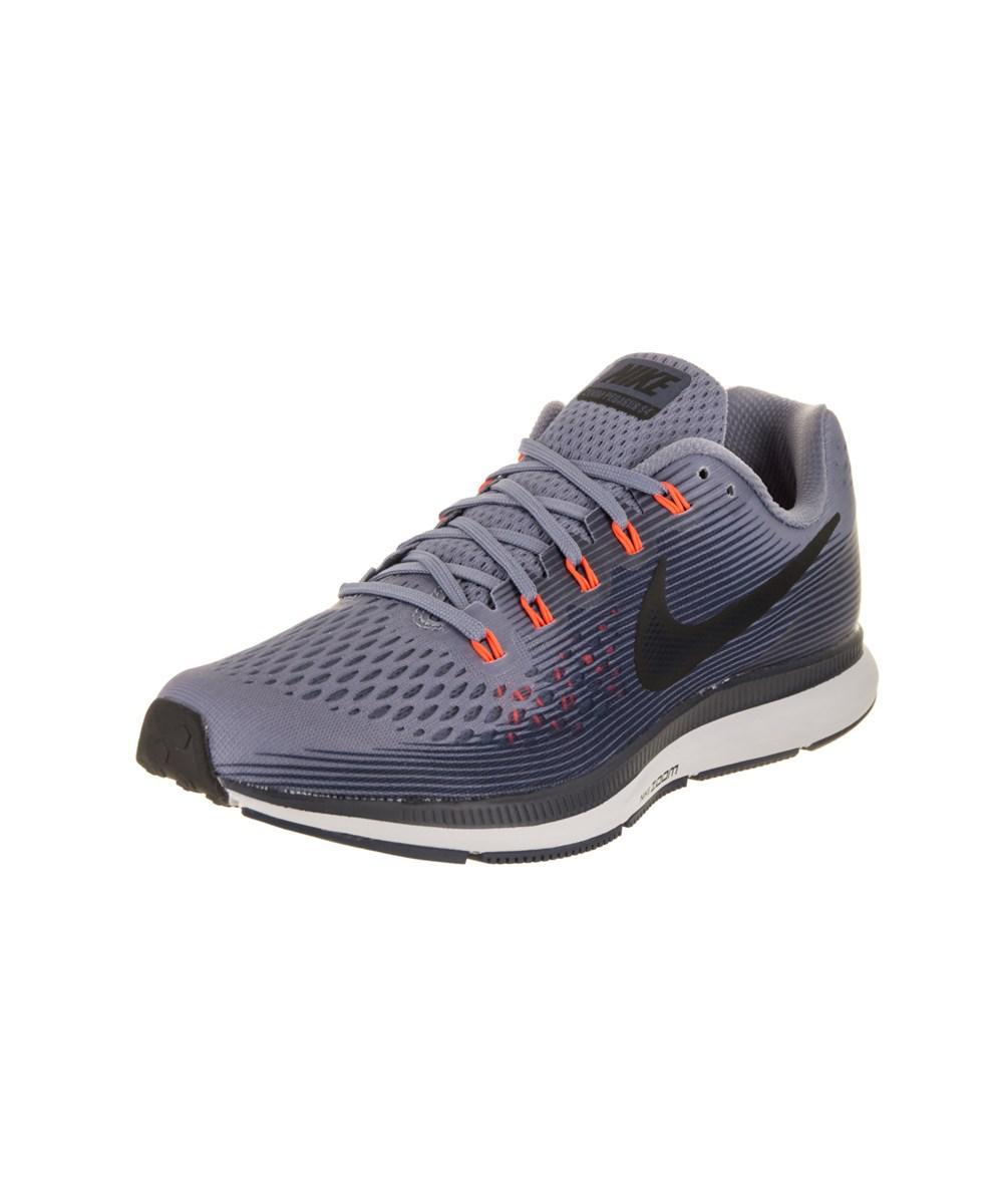 9e7c52f337063 Lyst - Nike Men s Air Zoom Pegasus 34 Running Shoe in Blue for Men