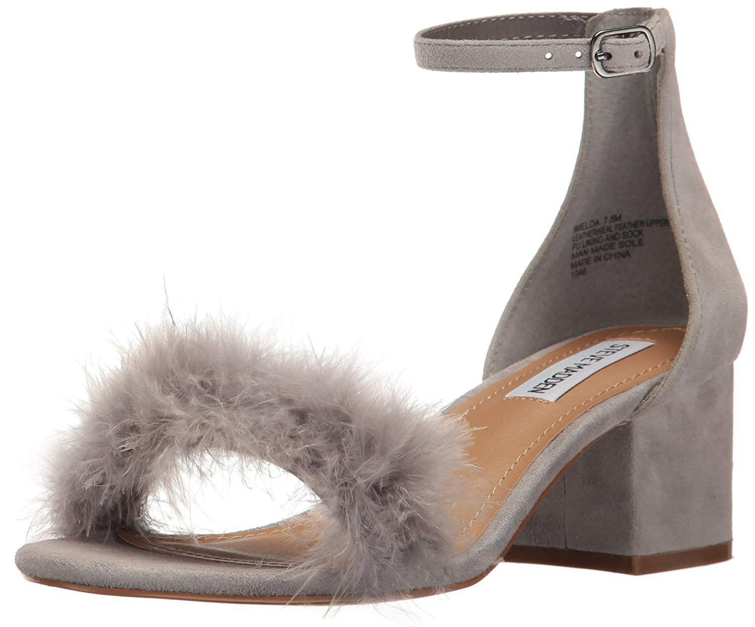 e32cb04ce39 Lyst - Steve Madden Womens Imelda Leather Open Toe Special Occasion ...