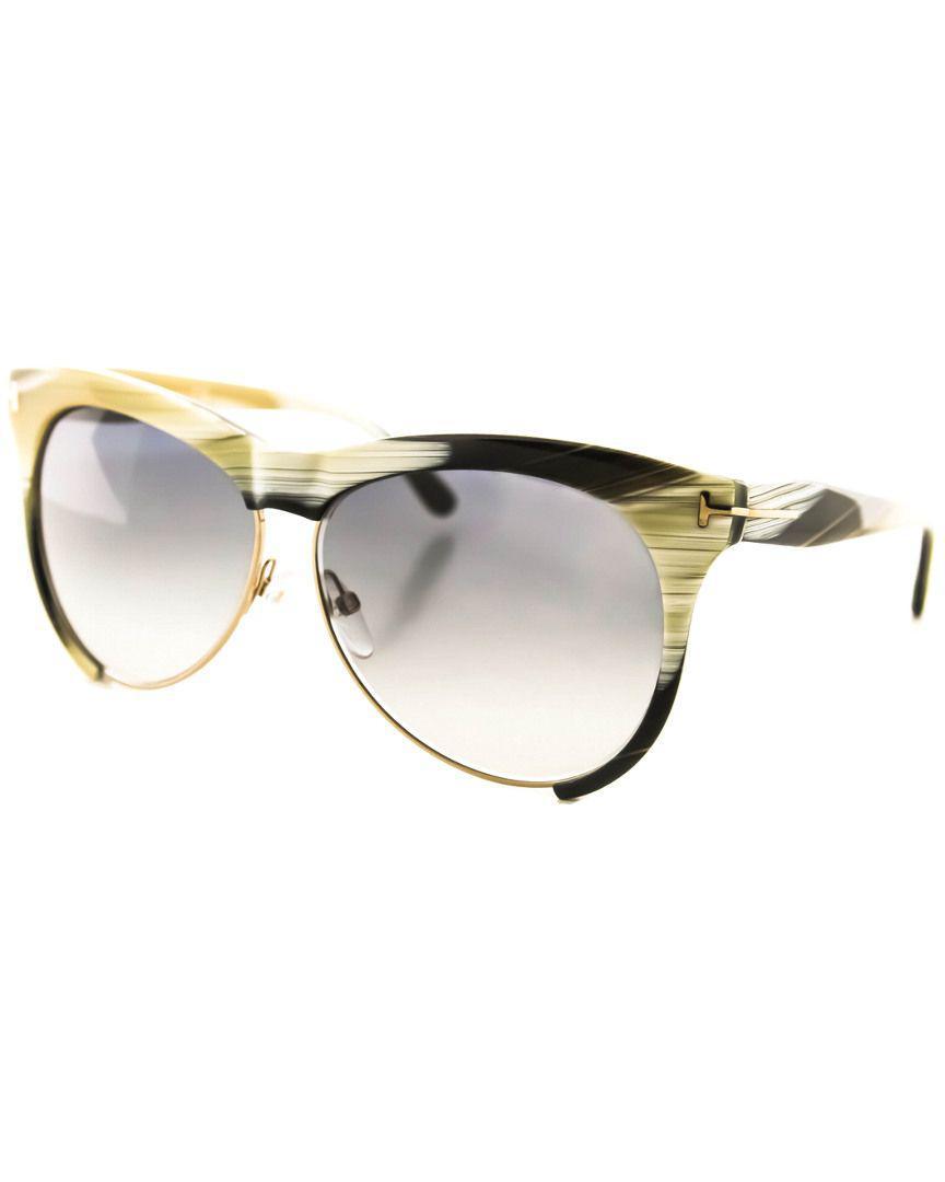 07aedccedd0 Lyst - Tom Ford Women s Leona Ft0365 Sunglasses