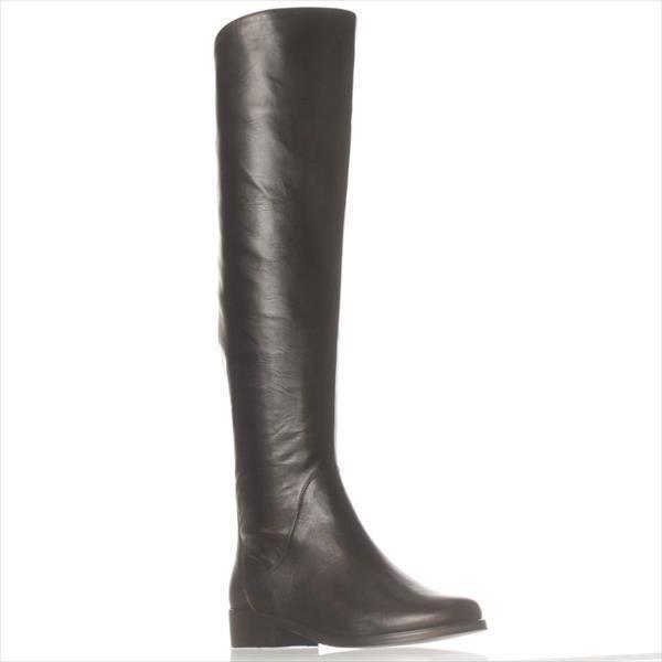 d923e04d671 Steve Madden Steven By Salley Over-the-knee Boots, Black in Black - Lyst
