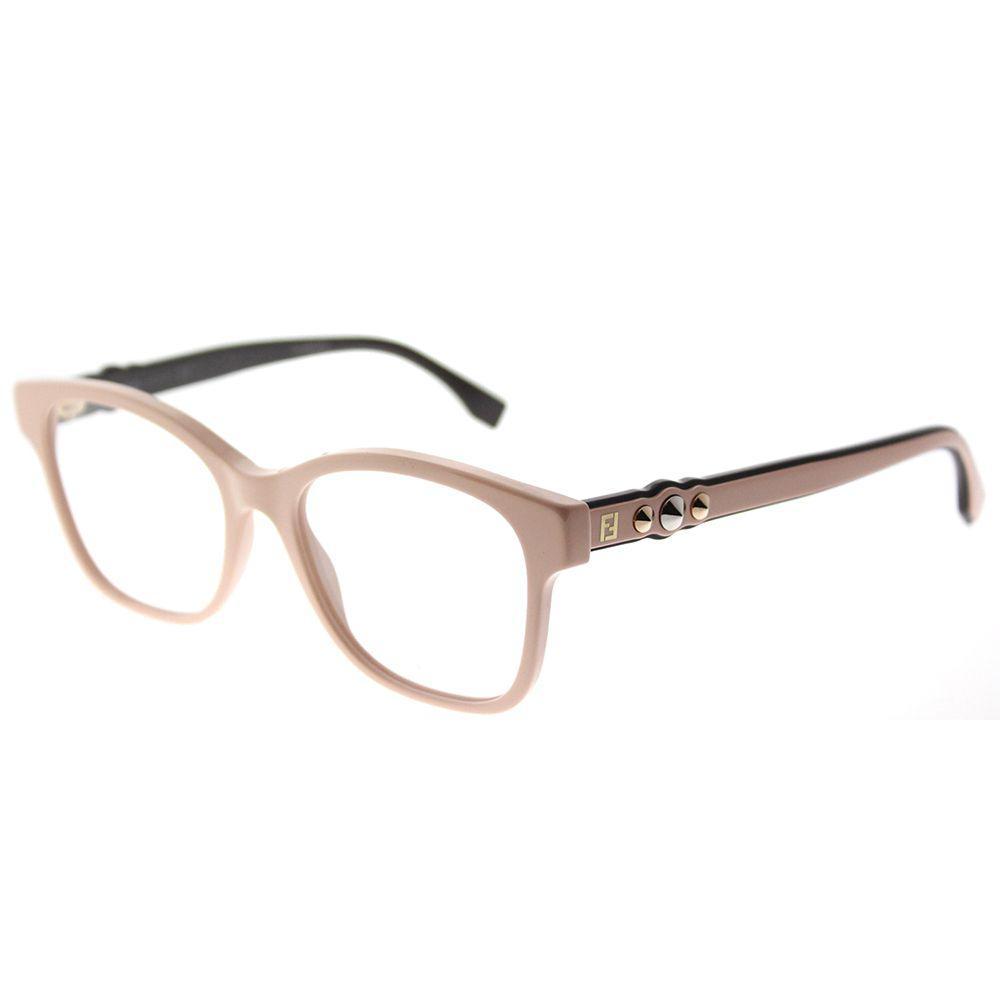 ec74fb387f8b2 Fendi. Women s Ff 0276 35j Pink Square Eyeglasses
