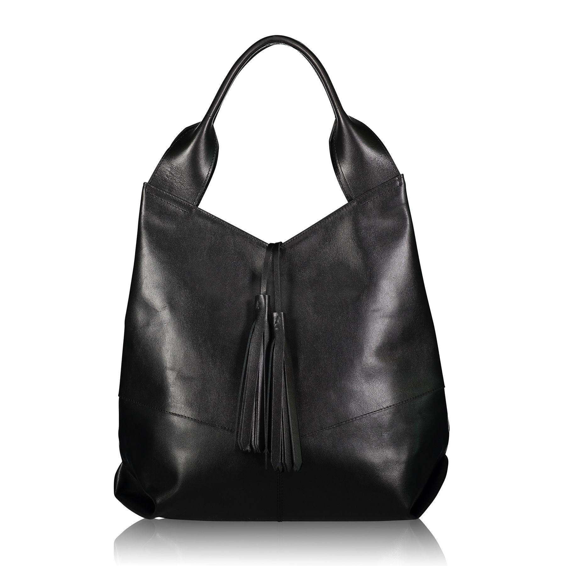 Lyst - Joanna Maxham Aficionado Tote In Nappa Leather (black) in Black 55614b0fa19e1