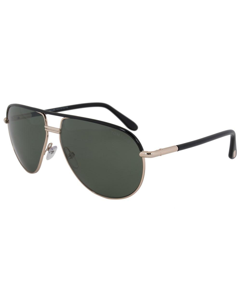 ba715c4e6d80 Lyst - Tom Ford Cole Polarized Aviator Sunglasses Ft0285 01j 61 Pol ...