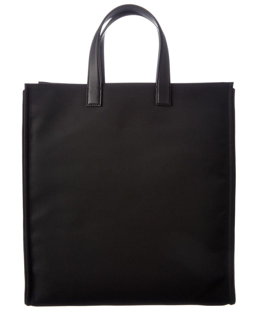 a6894d1beef4 Lyst - Fendi Men s Monster-creature Crystal Nylon   Leather Tote in Black  for Men