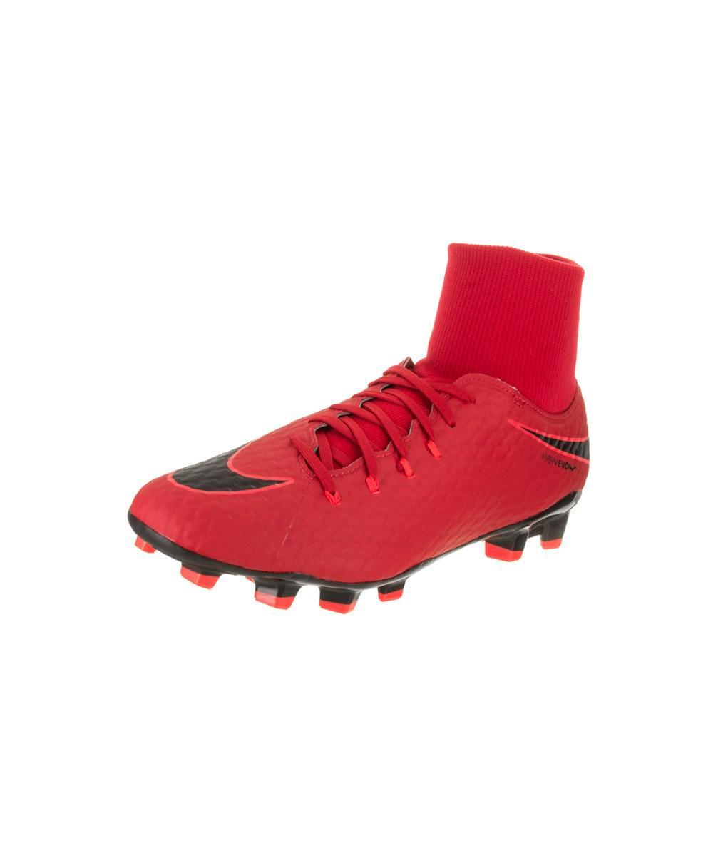 8f1b4d7405 Lyst - Nike Men s Hypervenom Phelon 3 Df Fg Soccer Cleat in Red for Men