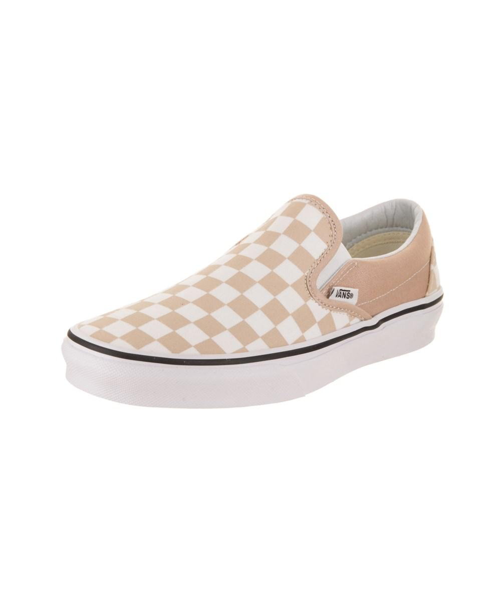 ed6137fa4053 Lyst - Vans Unisex Classic Slip-on (checkerboard) Skate Shoe in White