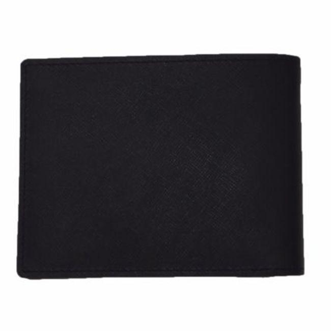 exclusive range b15e6 432b9 Versace - Collection Black Saffiano Leather  Medusa Logo Bifold Wallet for Men ... c90374ac3e