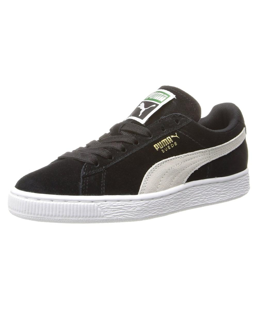 Lyst - Puma Womens 35546 01 Suede Low Top Lace Up Fashion Sneakers ... e564602ce