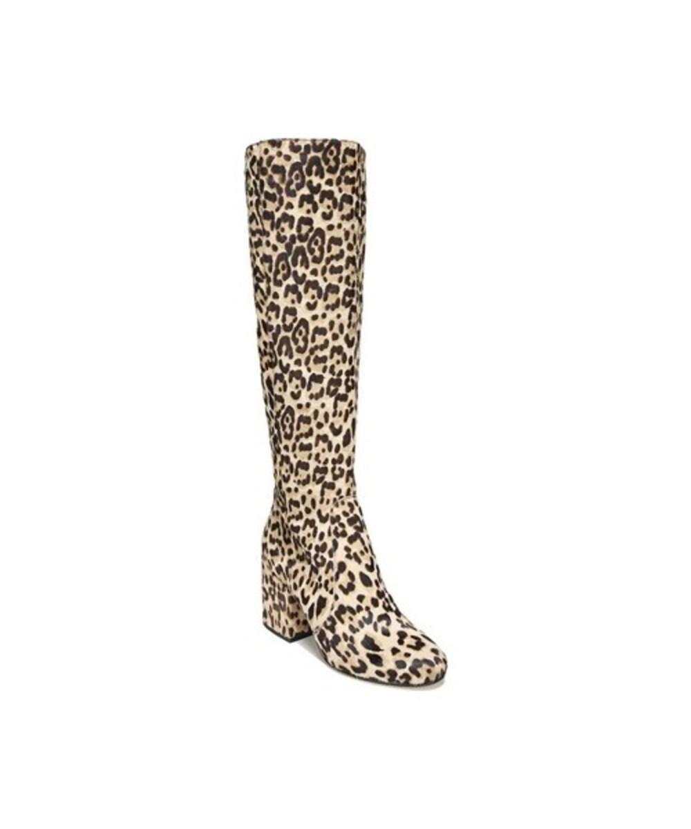 50fff0319309 Lyst - Sam Edelman Women s Thora Block Heel Knee High Boot