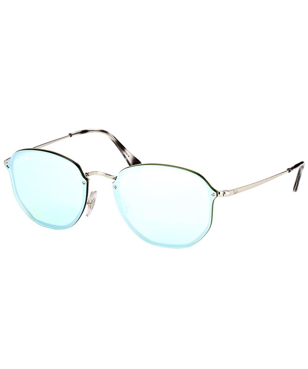 ae7b9b8546 Ray-Ban Blaze Hexagonal Rb 3579n 003 30 Silver Sunglasses in ...