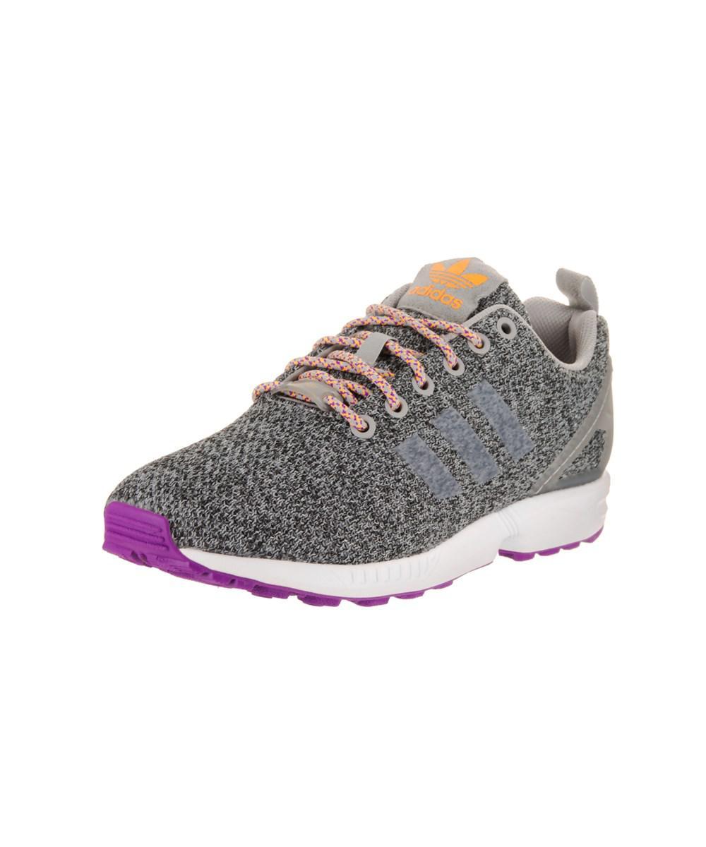 Lyst mujeres adidas zx Flux W Originals zapatillas gris