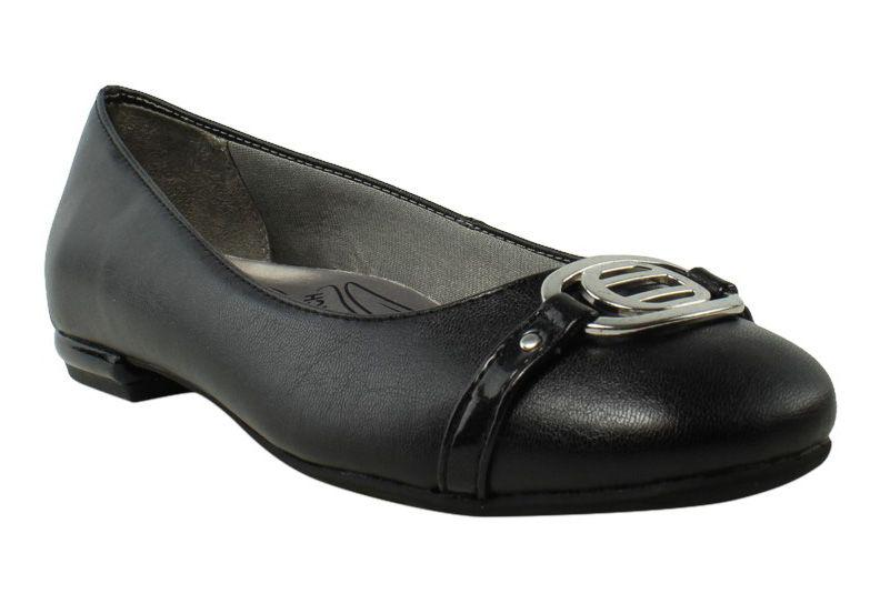 e72455b6fa79 Lyst - Lifestride Womens Blissful Black Ballet Flats (c
