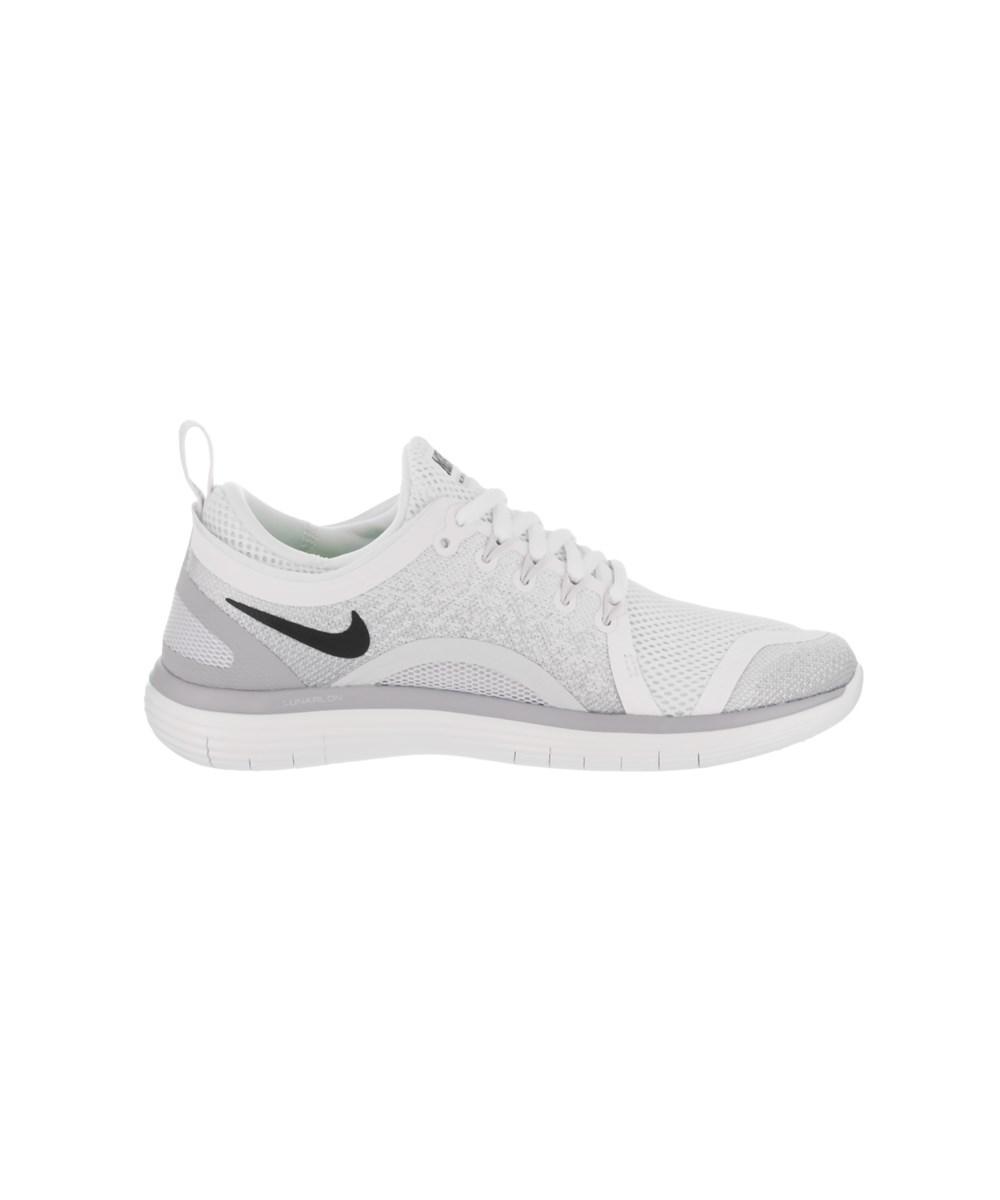 04d27e0b9221 White Shoe Free In Nike 2 Rn Lyst Running Women s Distance wc0qzcy8E