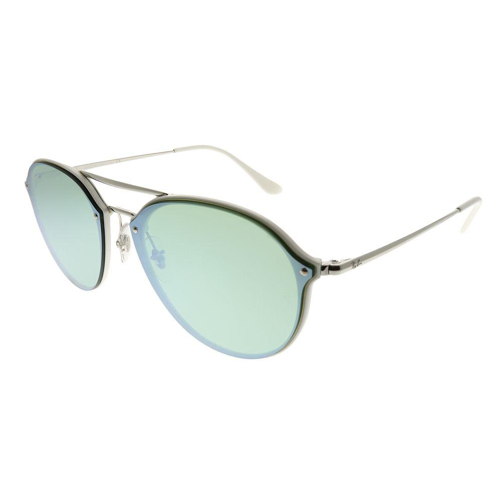 52b36645b6 Lyst - Ray-Ban Blaze Double Bridge Rb 4292n 671 30 62mm White Silver ...