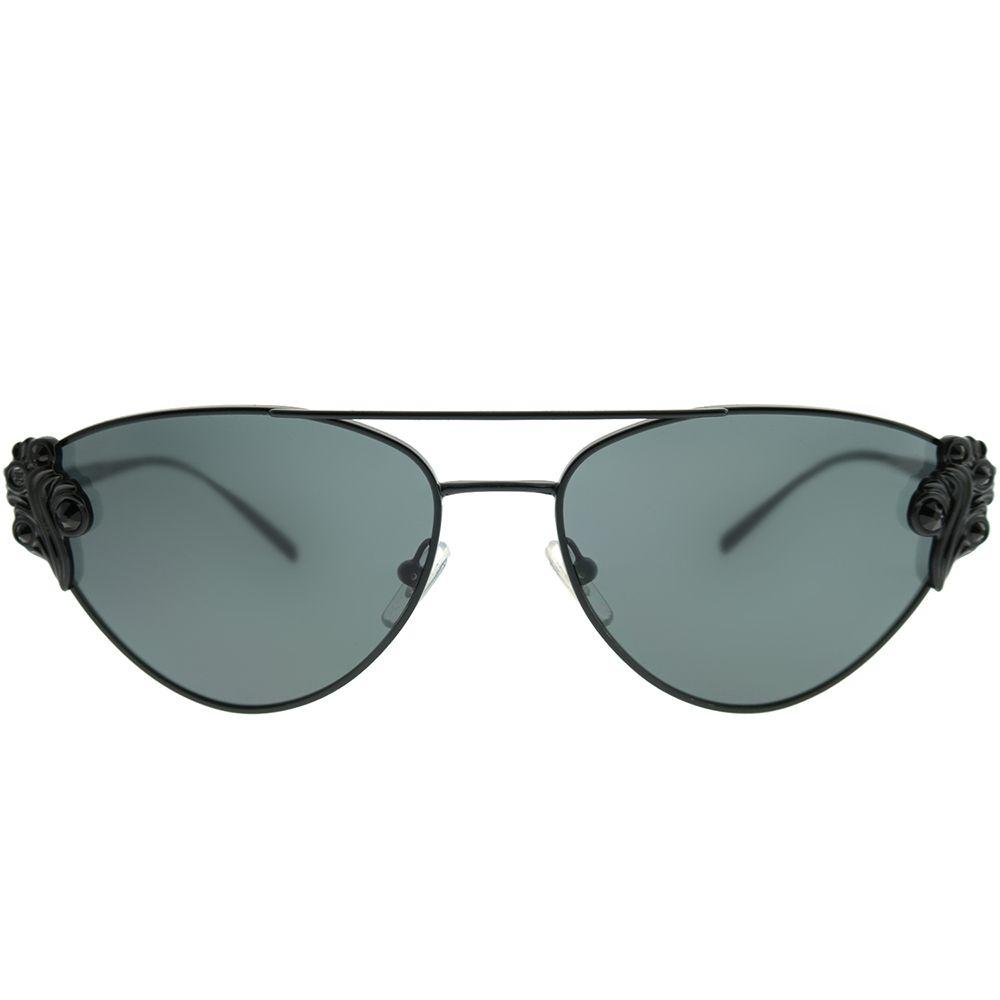 b33f069947b Versace - Ve 2195b 100987 Black Cat-eye Sunglasses - Lyst. View fullscreen