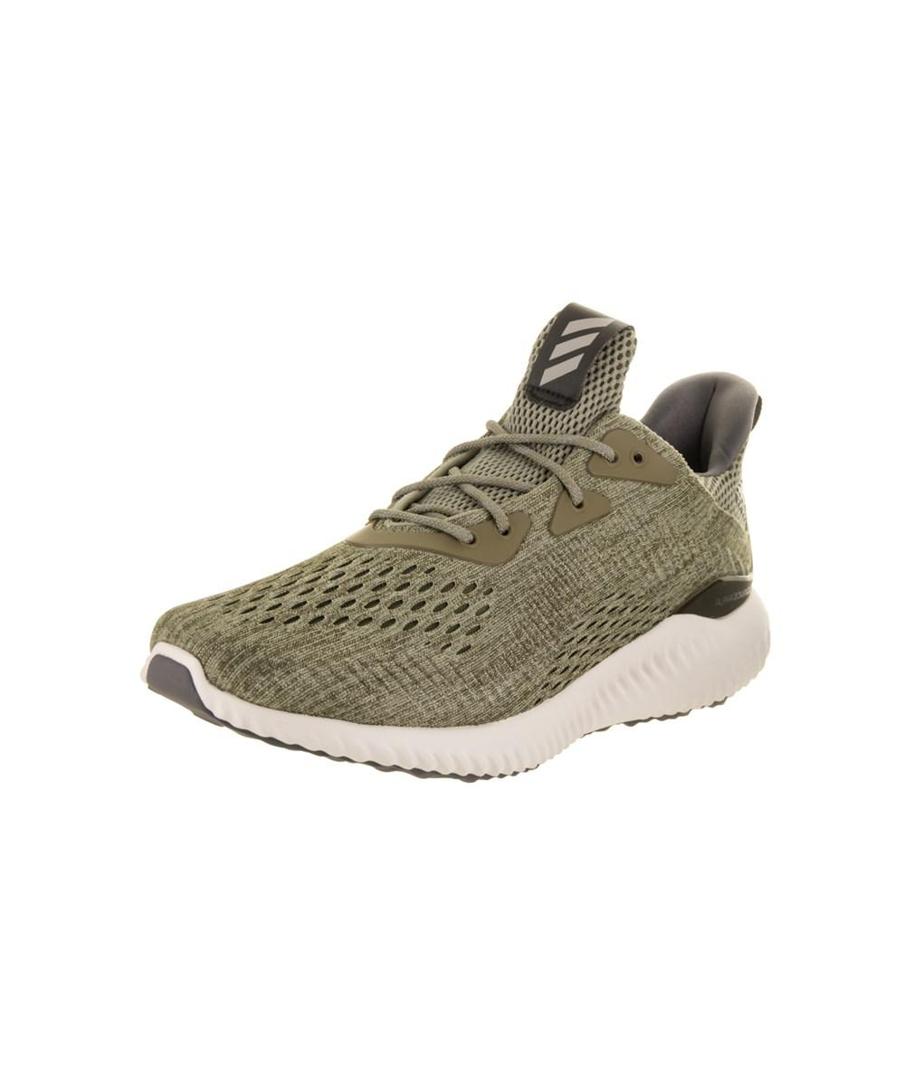 Lyst Adidas hombre 's AlphaBounce em m corriendo zapatos en verde para hombres
