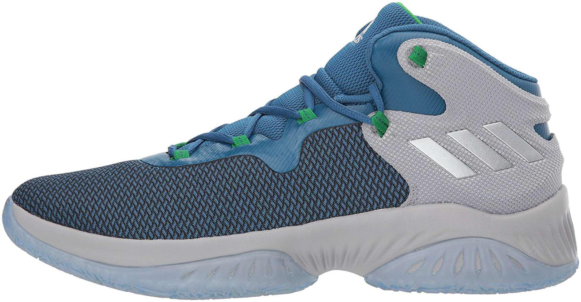 76a0e31b7ab5 Lyst - Adidas Mens Explosive Bounce Fabric Low Top Lace Up ...