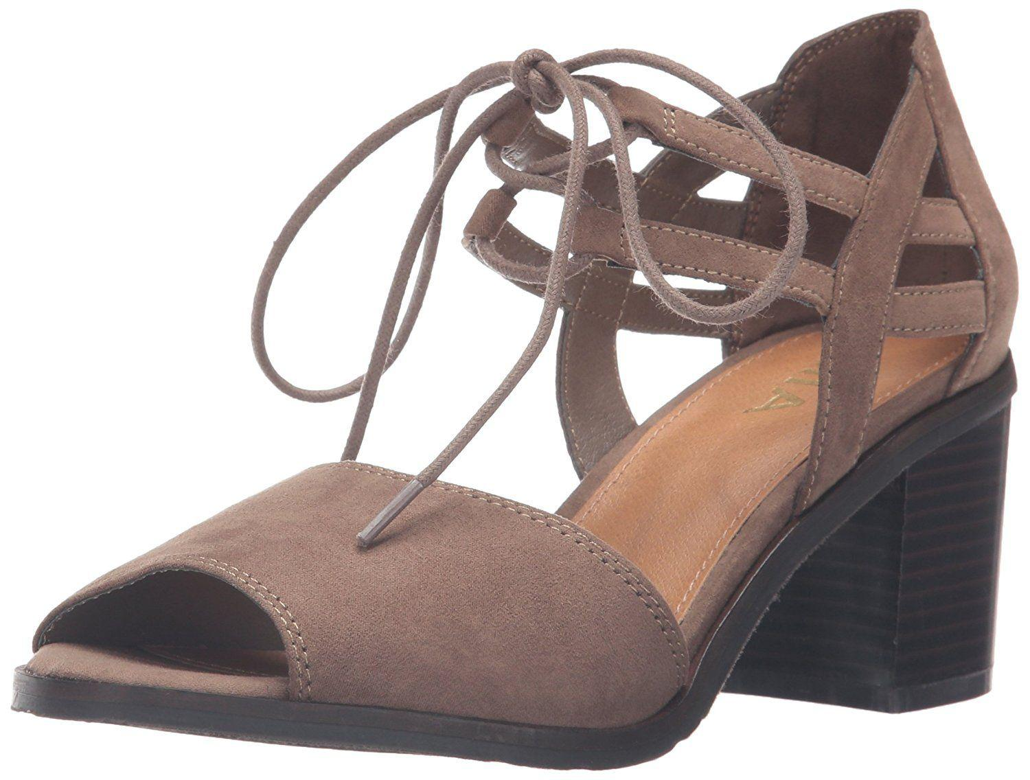 4e7253cc024 Mia Womens Luella Open Toe Casual Espadrille Sandals in Brown - Lyst