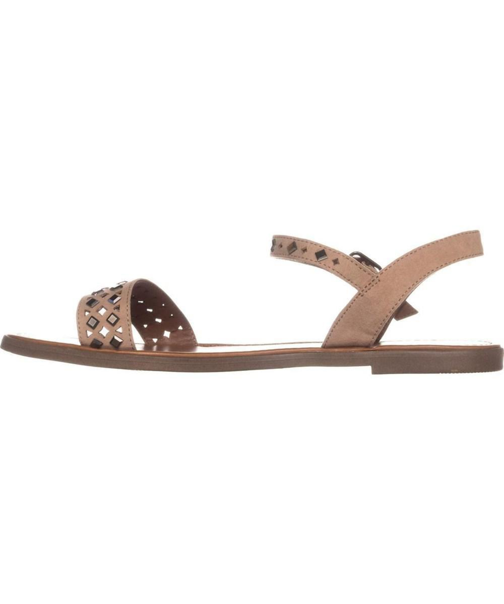 468d20920dd1 Lyst - Material Girl Womens Delany Open Toe Casual Ankle Strap ...